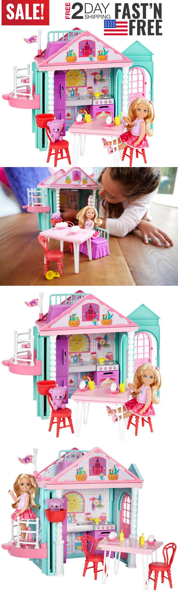 Developmental Baby Toys 100227: Toys For Girls Doll House Kids Toddler 4 5 6 7 8 9 Year Old Age Girls Cool Toy -> BUY IT NOW ONLY: $32.99 on eBay!