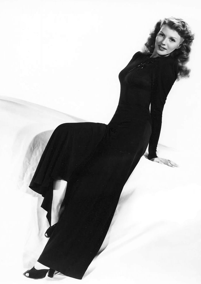 """""""She was a very shy person, very sweet, very caring; but I guess her role as Gilda sort of gave the world that image, that she was carefree, but she wasn't. """" ~Princess Yasmin Aga Khan on her mother, Rita Hayworth"""