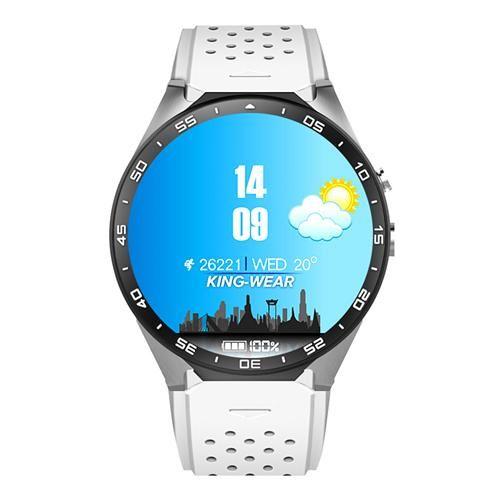KingWear KW88 3G Smartwatch telefon - White   --- Cena:  Kč  1618,72 z Kč 2856,56 ---- 2.2018