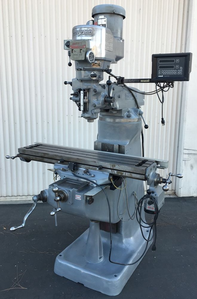 "BRIDGEPORT 9"" x 42"" SERIES I 2HP VARIABLE SPEED VERTICAL MILLING MACHINE…"