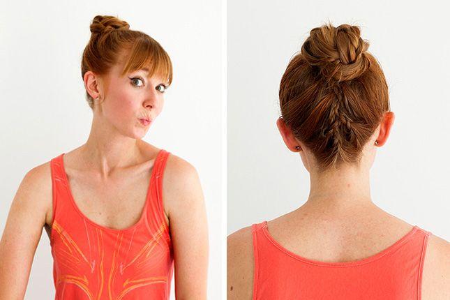 10 Gym Hairdos That Go Far Beyond the Treadmill via Brit + Co.