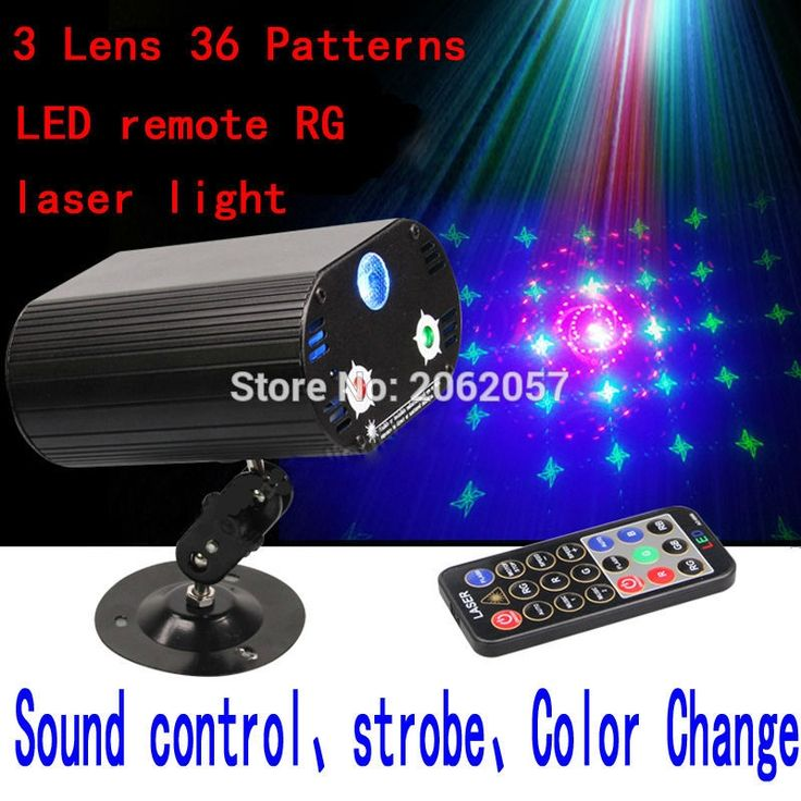 (38.64$)  Watch now - http://ai9bp.worlditems.win/all/product.php?id=32662132452 - 3 Lens36 Patterns RG LED remote laser light christmas decorations for home DJ DISCO laser projector holiday party stage lighting