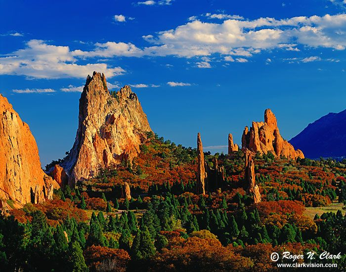 Garden of the Gods, Colorado Springs, Colorado.  Beautiful photo of a beautiful place!  by Roger N. Clark