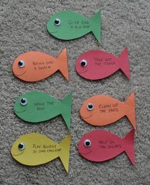 Manualidad Pez La Pesca Milagrosa