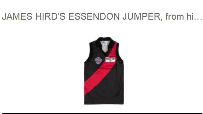 A big turnout has been tipped on August 15 as a bounty of James Hird's prized possessions is auctioned in Armadale.