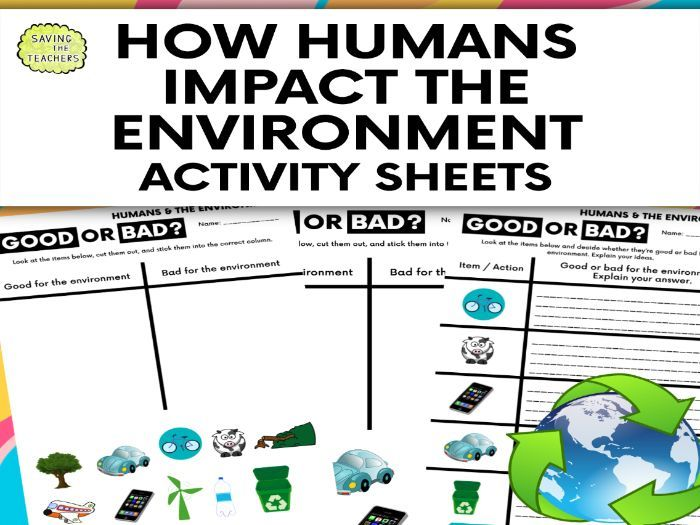 Humans And The Environment How Humans Affect The Environment