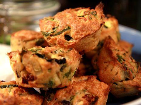 Vegetariska matmuffins | Recept från Köket.se