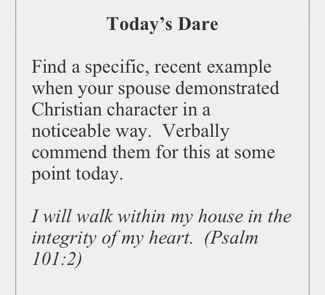 The love dare day 34