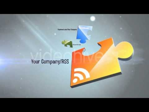 After Effects Project Files - Puzzle Logo Opener - VideoHive Templates - YouTube