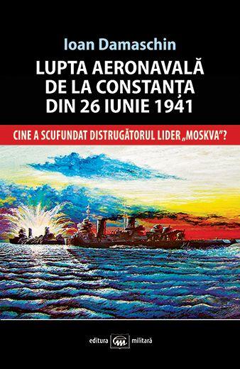 """Autorul acestei lucrări, care se doreşte a fi de referinţă şi deschizătoare de noi perspective, rămâne cu satisfacţia că, printr-un studiu amănunţit al documentelor de arhivă şi al cărţilor consacrate acestui subiect, româneşti, germane şi ruseşti, a reuşit să stabilească, cu exactitate, prin calcule, locul în care a fost scufundat liderul """"Moskva"""", cu mulţi ani înainte să se ajungă la epavă. Format 13x20 cm 224 p + 24 p colita foto Preţ: 13,5 lei"""