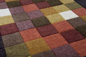Recycler des restes de moquette en fabriquant un tapis