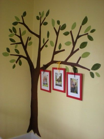 Awesome Tree Garden Wall Murals Paintings Ideas For Nursery Kids Bedroom  Decorating Ideas Part 58