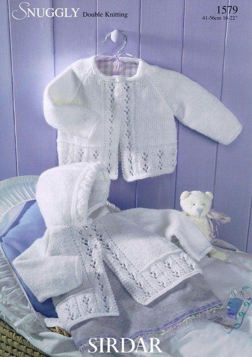 Sirdar--Matinee Coats (birth - age 2)
