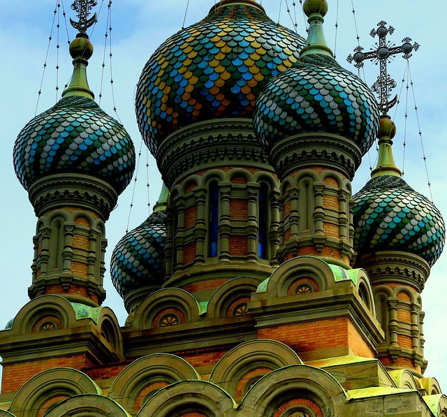 The orthodox russian church in Florence