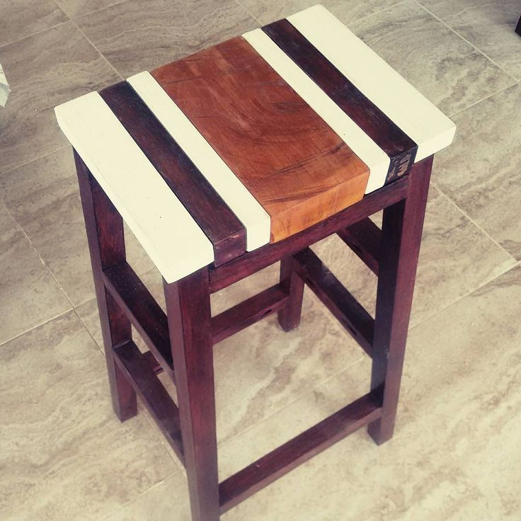 Scrap Wood Bar Stool made from Purple Heart  Pine  and Mahogany  Center  piece. 65 best Purple Heart Wood images on Pinterest   Purple heart wood