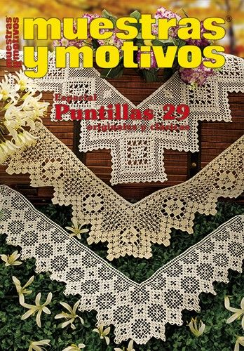 17 best images about puntillas 29 revista crochet on - Colchas a ganchillo muestras ...
