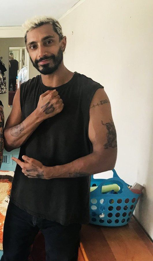 """Riz Ahmed on the set of """"Sound of Metal"""" in Boston"""