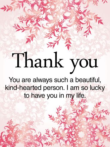 48 best thank you cards images on pinterest card birthday thank to a kind hearted person thank you card this thank you card is m4hsunfo