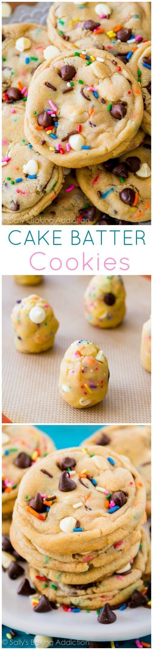 Pinner wrote:THE Cake Batter Chocolate Chip Cookie recipe ... One of the most popular recipes!