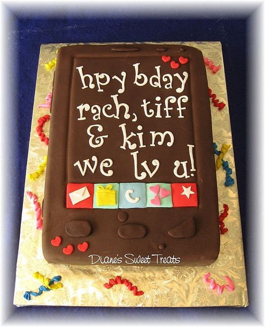 20 Best Cell Phone Cakes Images On Pinterest Iphone Cake