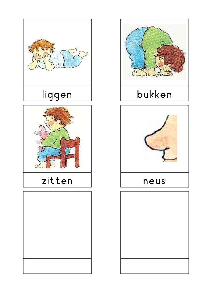Woordkaarten Bas 'Dit ben ik' 3