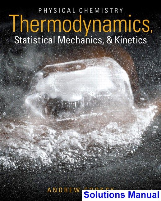 58 best test bank download images on pinterest key manual and physical chemistry thermodynamics statistical mechanics and kinetics 1st edition andrew cooksy solutions manual test bank fandeluxe Image collections