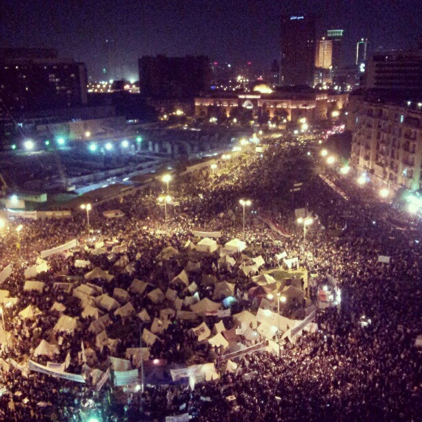 @lodgaard | Tens of thousands on #tahrir sq #Cairo in anti-Mursi protest