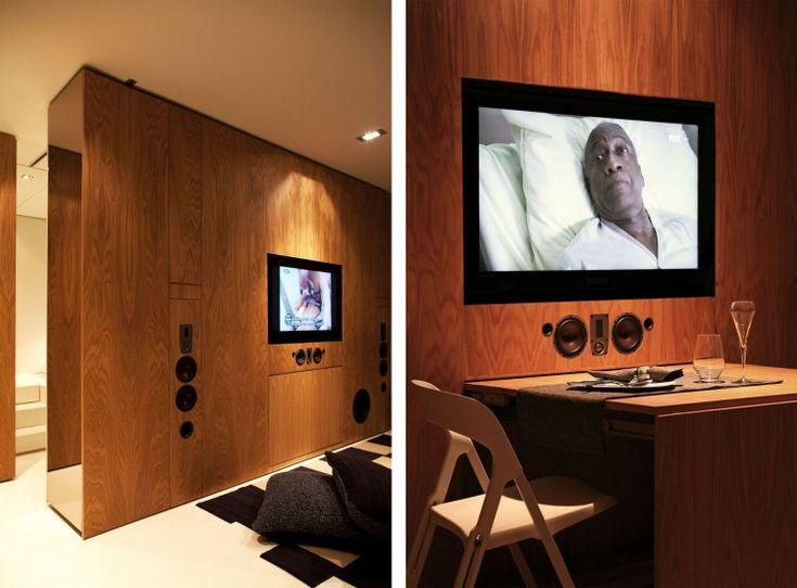 High Tech Closet House By Consexto Video Studio DesignHome