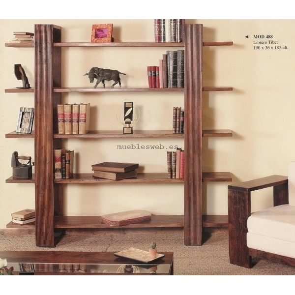 17 best ideas about libreros de madera on pinterest - Libreros de madera modernos ...