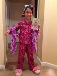 Homemade Junie B Jones character costume