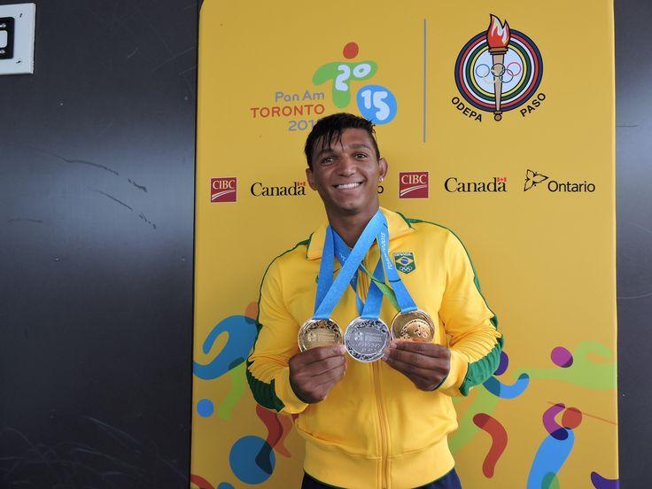 Embalado pelo vento, Isaquias vence C1 200m e conquista mais um ouro  #globoesporte