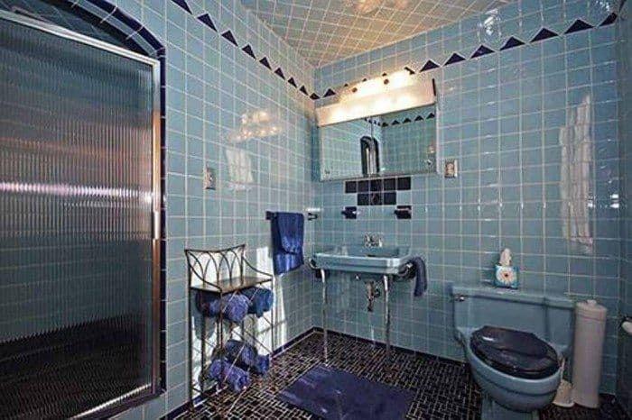 1950s Retro Bathroom Retro Style Bathroom In Bathroom Category