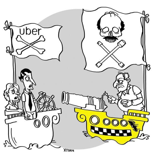 10 de Septiembre de 2015  El gremio de los taxistas crea bloque de búsqueda para casar a los carros de la empresa Uber.