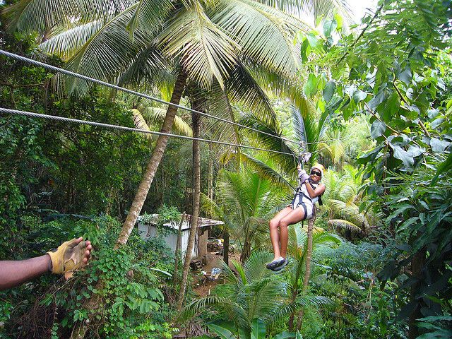Top Five Things to Do in St Lucia / vtravelled blog / Ziplining at Treetop Adventure Park by davitydave on Flickr