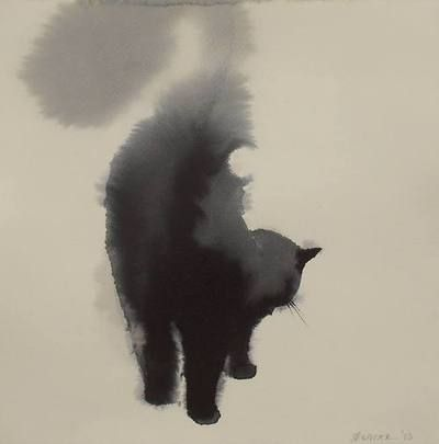 Only vaguely reminiscent of a cat yet still enitelry beautiful