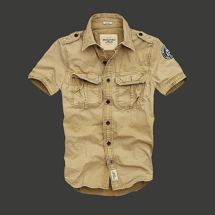 Herren Abercrombie Fitch Washed shirt 046 [AbercrombieFitch 2769] - €43.99 : , billig abercrombie store online in Deutschland