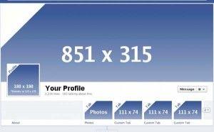 Pixelgrößen-Facebook-Timeline