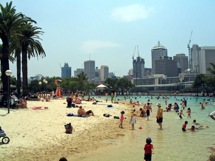 City Beach, Brisbane, Australia,