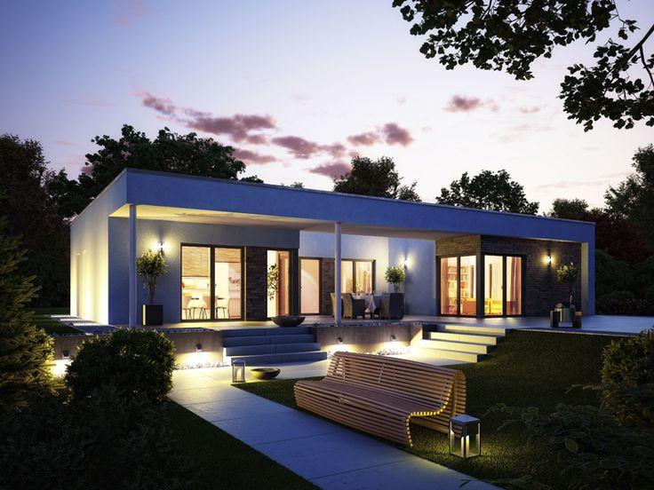 Fertighaus bungalow modern  55 besten Bungalow Bilder auf Pinterest | Architektur, Traumhaus ...