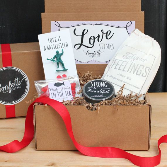 Breakup Gift Breakup Care Package by ConfettiGiftCompany on Etsy