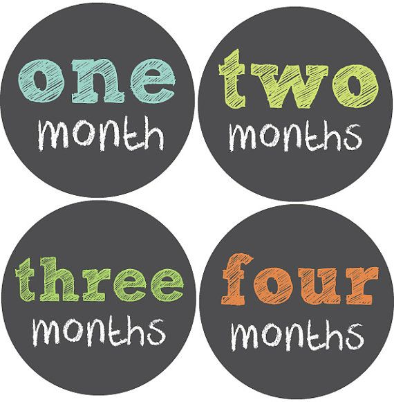 Monthly Baby Stickers Baby Boy Month Stickers by BabyBellyStickers, $9.00