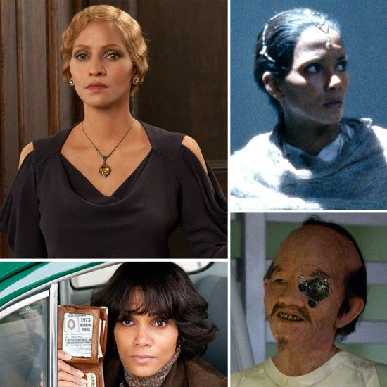 Halle Berry's different faces in Cloud Atlas
