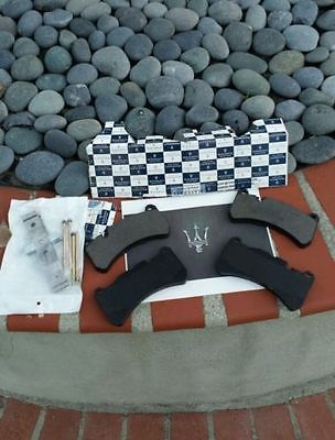 Genuine OEM Maserati Rear Brake Pads Dealer Liquidation