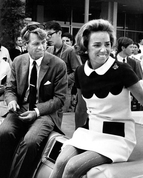 Bobby and Ethel Kennedy.