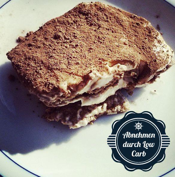 Low Carb Tiramisu #LCHF #LC #Lowcarb #Abnehmen #Weightloss #Diät #Diet