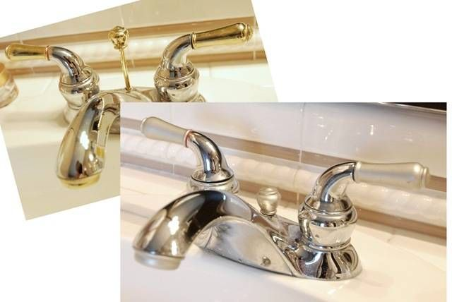 Discount Bathroom Faucets Polished Brass Pull Out Sprary Gold