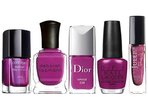 Our favorite magenta-colored nail polishes | allure.com