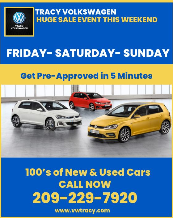 Tracy Volkswagen Weekend SALE THIS FRIDAYSATURDAYSUNDAY