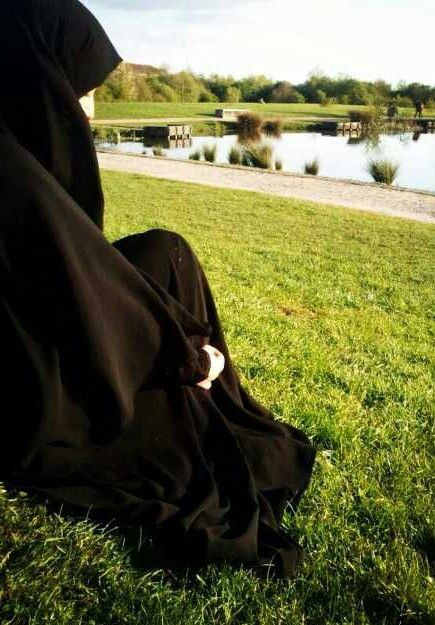 Jilbab Beauty on the Grass
