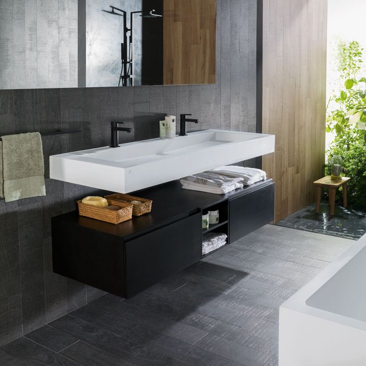 77 best Idées salle de bain images on Pinterest Bathroom, Bathroom